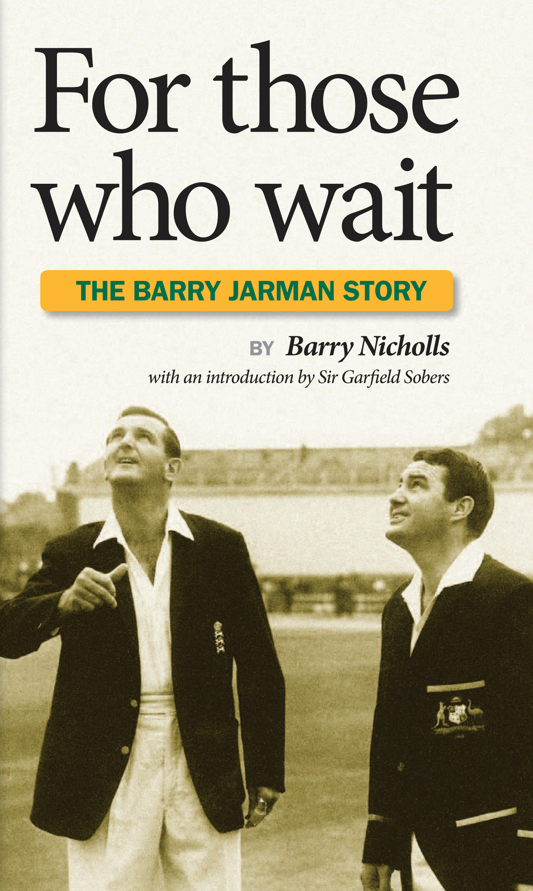 For those who wait by Barry Nicholls