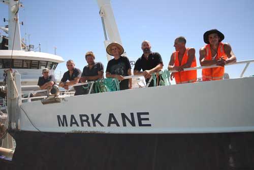 Sardine Fishing on the Markane, Port Lincoln SA