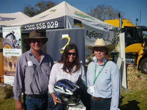 AgForce at the Field Days
