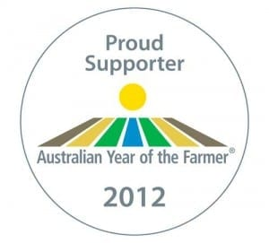 Fleur McDonald supports Australian Year of the Farmer