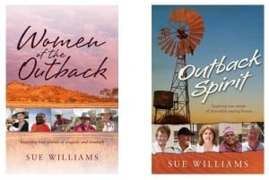Other Outback books by Australian Author Sue Williams