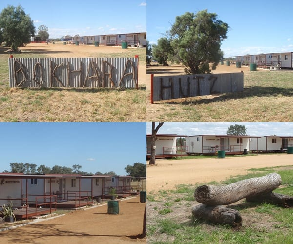 Bokhara Hutz Outback Accommodation