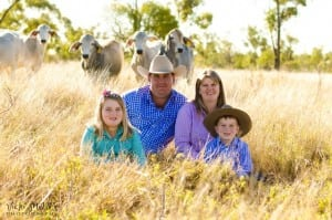 Kylie Stretton and her family photo by Vicki Miller Photography