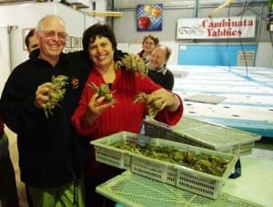 Michael and Mary Nenke, Cambinata Yabbies WA