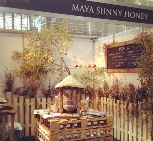 Maya Sunny Honey display