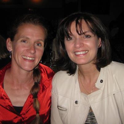 Fiona McIntosh and Jess Hodgson