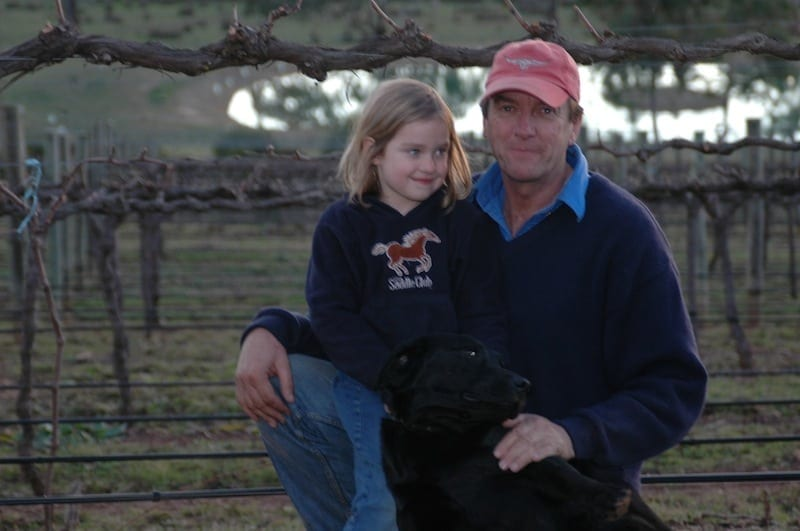 Greg Koch with daughter Sue