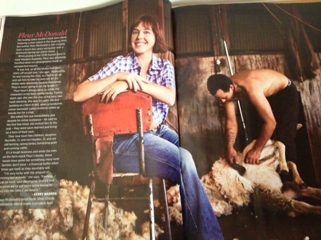 Fleur McDonald in The Australian Woman's Weekly