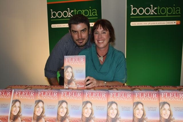 John Purcell and I at Booktopia