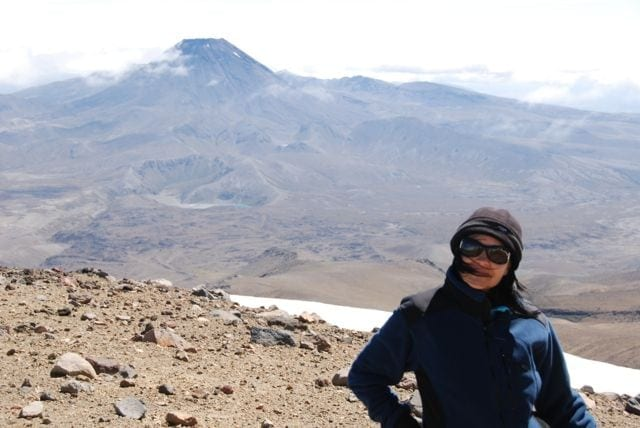 Mt Ngauruhoe in Tongariro National Park - also known at Mt Doom in the Lord of the Rings!