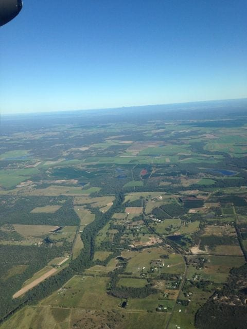 Flying into Bundeburg