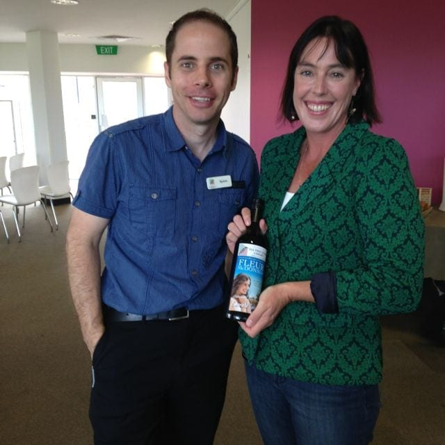 Symon from Tea Tree Gully Library and I