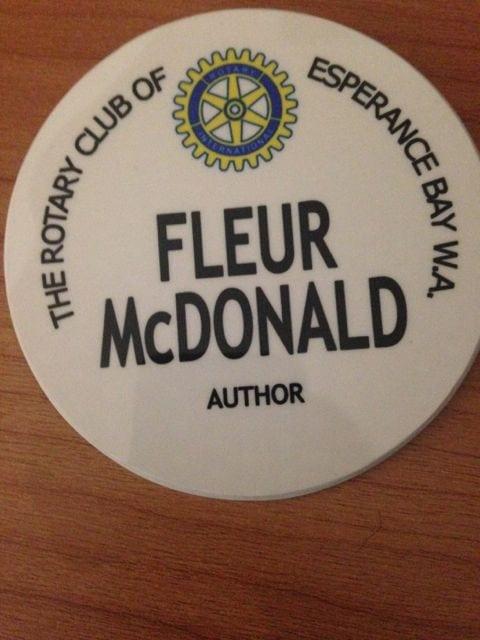 My Rotary badge!
