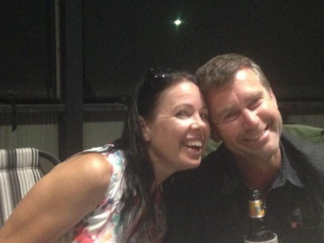 Carolyn and Aaron