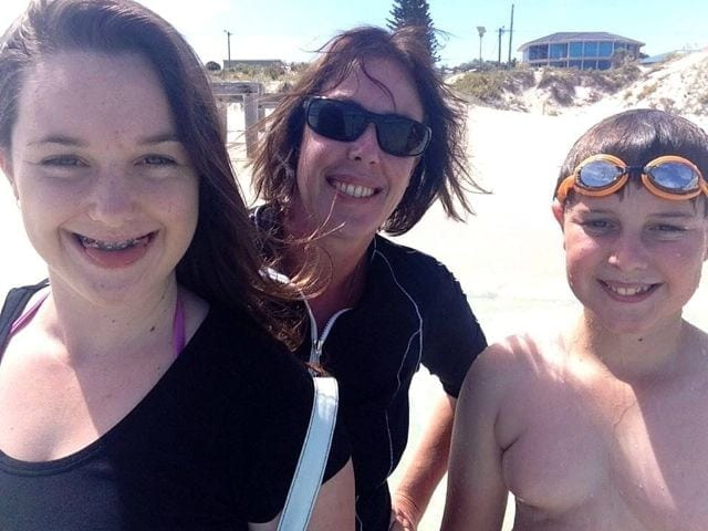 Rochelle, Hayden and I