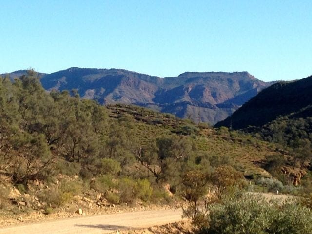 The Flinders Ranges